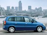 Vauxhall Zafira GSi 2001–05 photos
