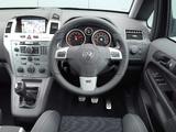Vauxhall Zafira VXR 2005–10 photos