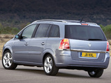 Vauxhall Zafira 2005–08 wallpapers