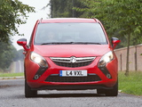 Vauxhall Zafira Tourer ecoFLEX 2011 wallpapers