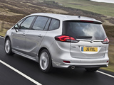 Vauxhall Zafira Tourer 2011 wallpapers