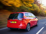 Vauxhall Zafira Tourer BiTurbo 2012 wallpapers