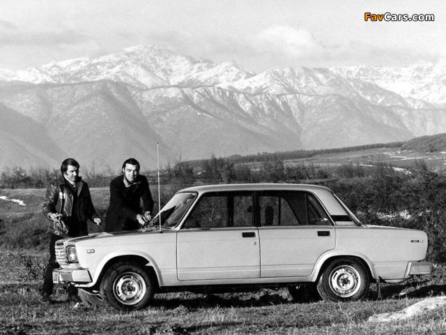 VAZ 2107 1978 photos (640 x 480)