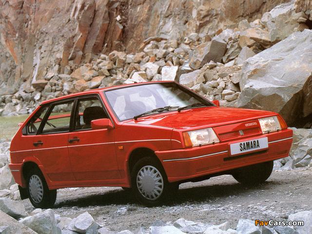 Lada Samara 1500 SLX 5-door (21098) 1989–91 photos (640 x 480)