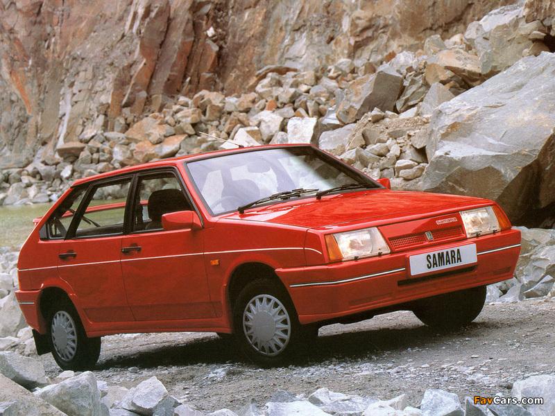 Lada Samara 1500 SLX 5-door (21098) 1989–91 photos (800 x 600)