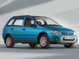 Pictures of Lada Kalina 4WD  (1117) 2007