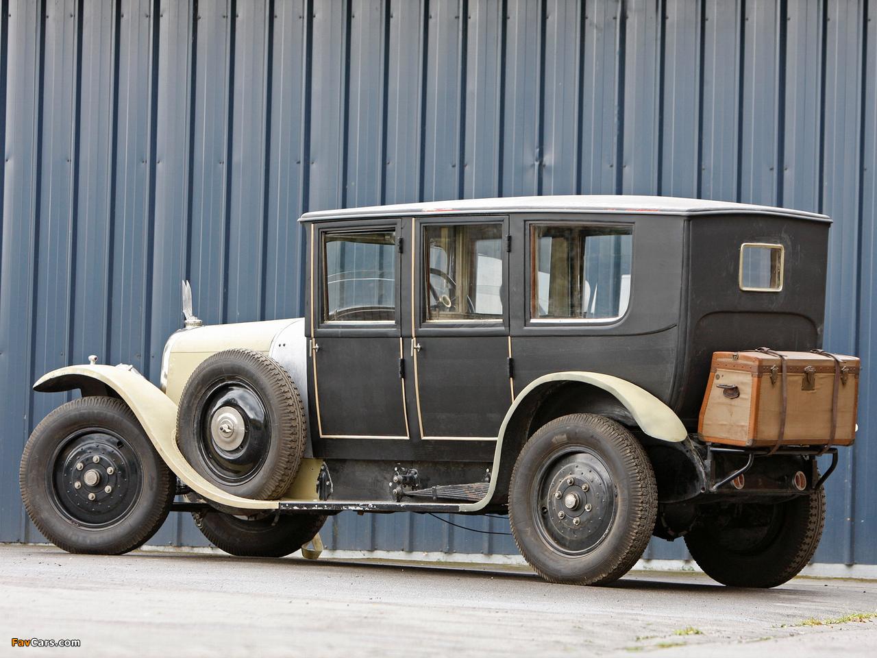 Voisin C1 Chauffeur Limousine 1919 wallpapers (1280 x 960)