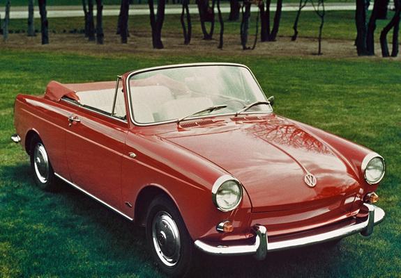 Volkswagen 1500 Notchback Cabriolet Type3 1961 Wallpapers