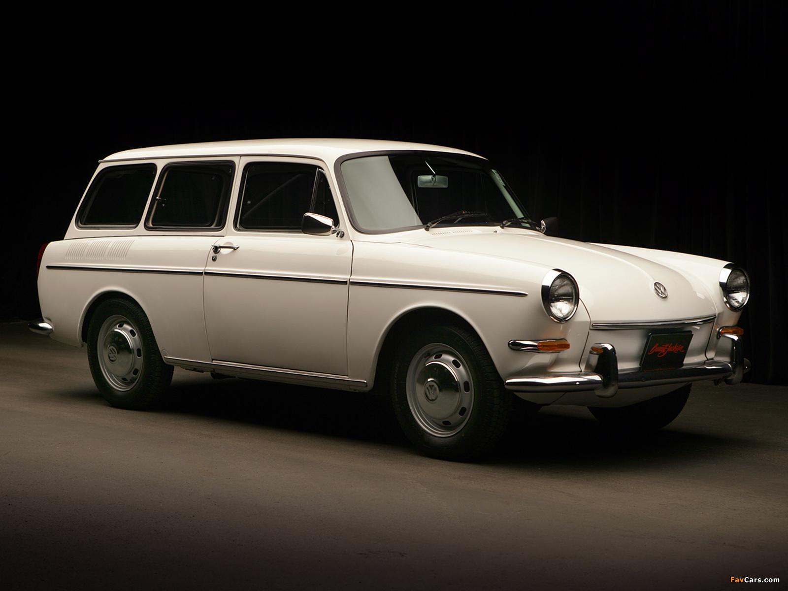 Volkswagen 1600 Variant (Type 3) 1966–69 wallpapers ...