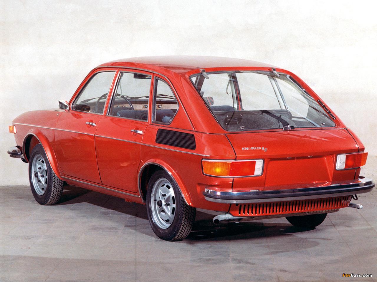Volkswagen 412 4 Door Sedan Type4 1972 74 Pictures