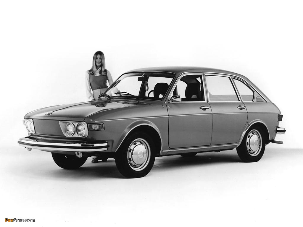 Volkswagen 412 4-door Sedan (Type4) 1972–74 wallpapers (1024 x 768)