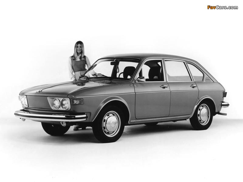 Volkswagen 412 4-door Sedan (Type4) 1972–74 wallpapers (800 x 600)