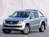 Images of Volkswagen Amarok Double Cab Highline ZA-spec 2010