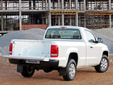 Images of Volkswagen Amarok Single Cab Comfortline ZA-spec 2010