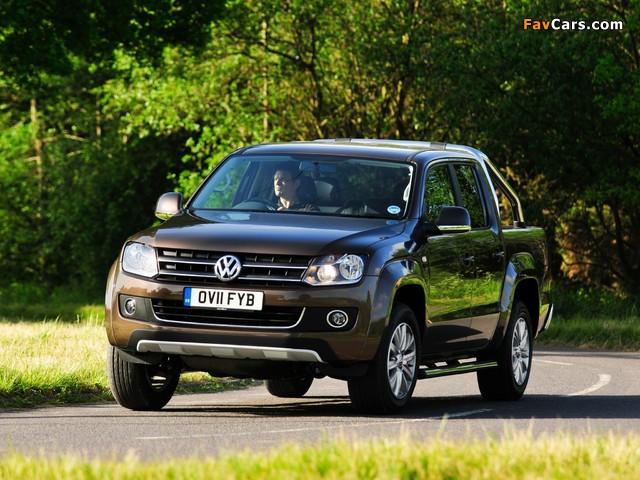 Images of Volkswagen Amarok Double Cab Highline UK-spec 2010 (640 x 480)