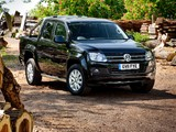 Images of Volkswagen Amarok Double Cab Trendline UK-spec 2010