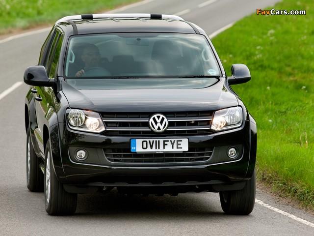 Photos of Volkswagen Amarok Double Cab Trendline UK-spec 2010 (640 x 480)