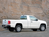Photos of Volkswagen Amarok Single Cab Comfortline ZA-spec 2010
