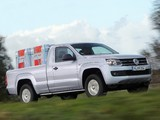 Photos of Volkswagen Amarok Single Cab Comfortline 2010