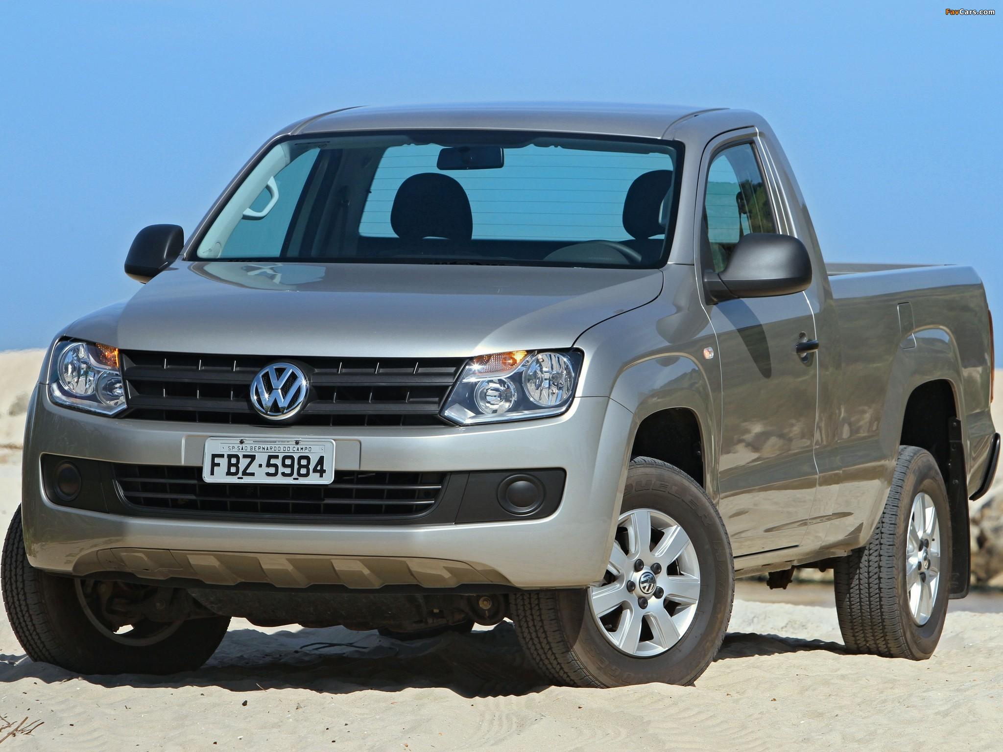 Photos of Volkswagen Amarok Single Cab Comfortline 2010 (2048 x 1536)