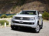 Photos of Volkswagen Amarok Double Cab Highline 2010