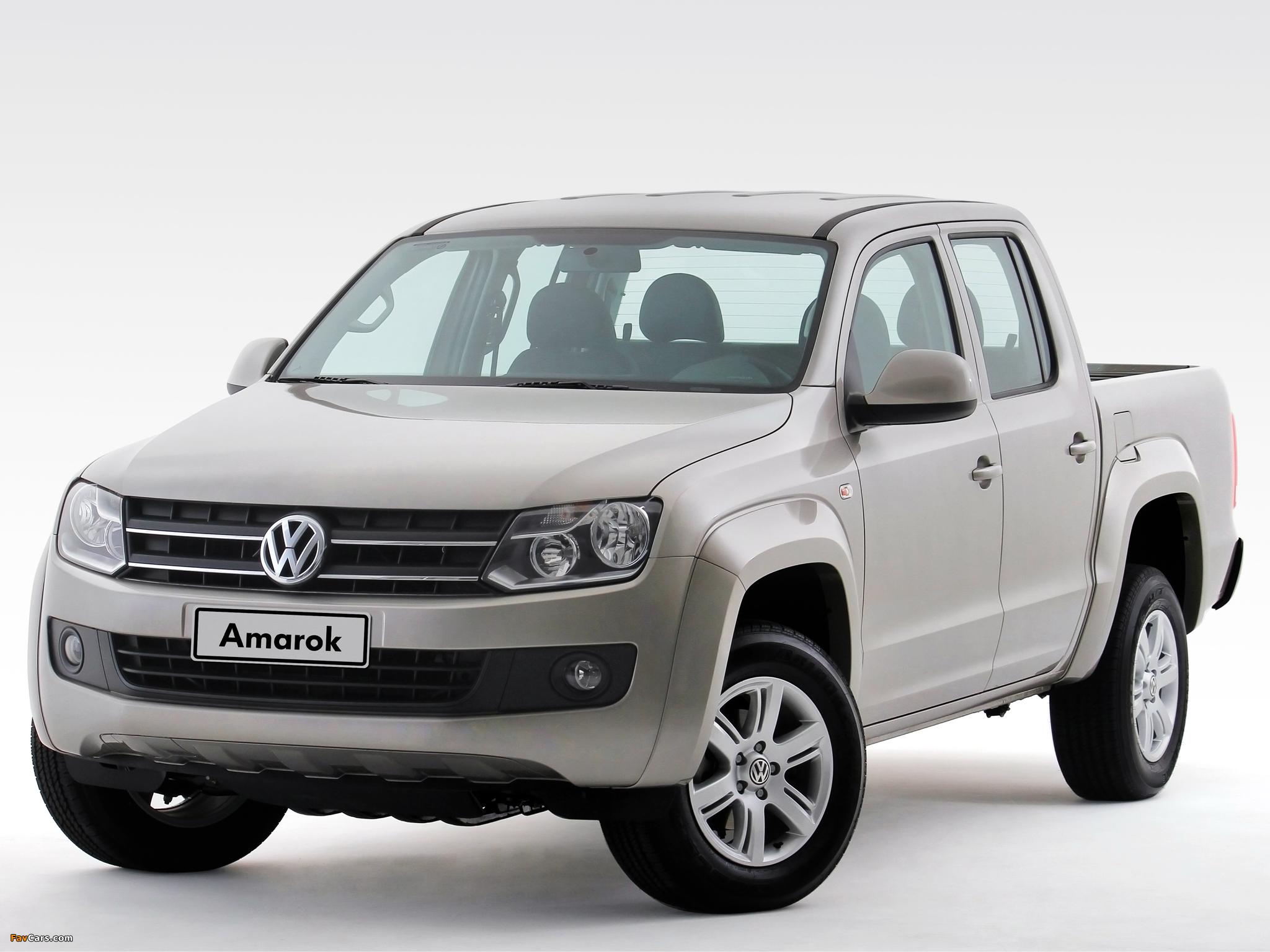 Photos of Volkswagen Amarok Double Cab Comfortline 2010 (2048 x 1536)