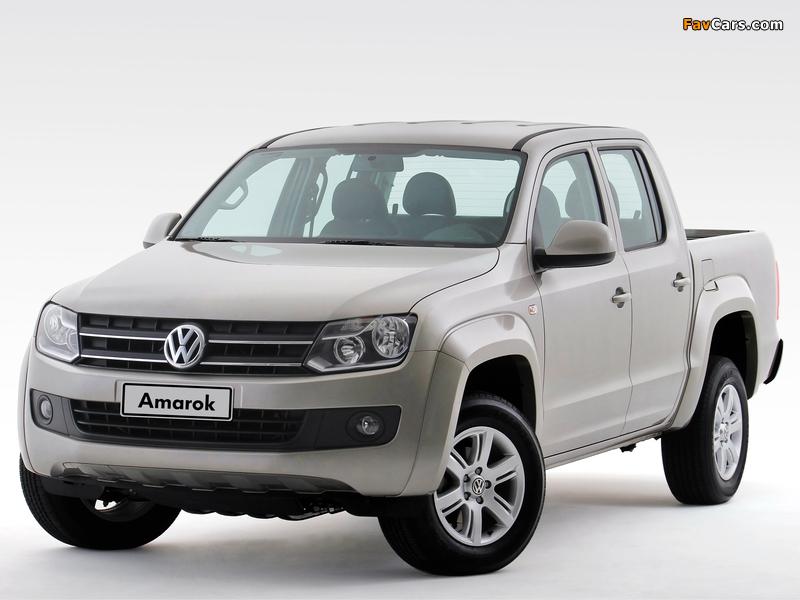 Photos of Volkswagen Amarok Double Cab Comfortline 2010 (800 x 600)