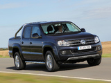 Photos of Volkswagen Amarok Double Cab Highline BlueMotion 2011