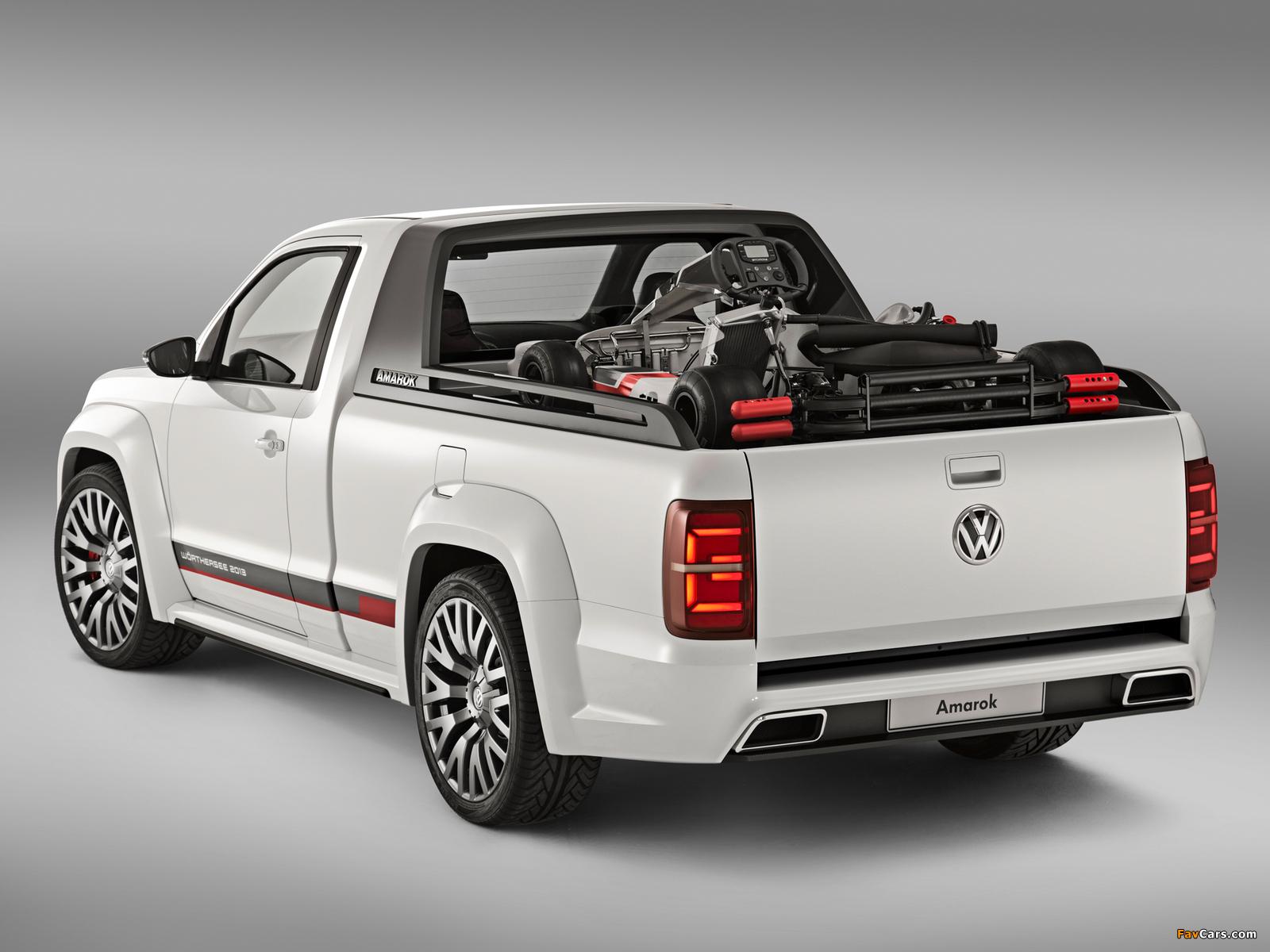 Photos of Volkswagen Amarok Power-Pickup Concept 2013 (1600 x 1200)