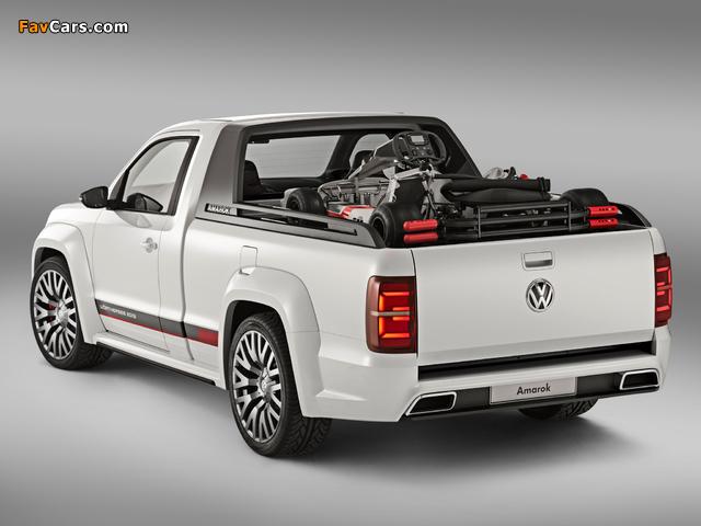 Photos of Volkswagen Amarok Power-Pickup Concept 2013 (640 x 480)