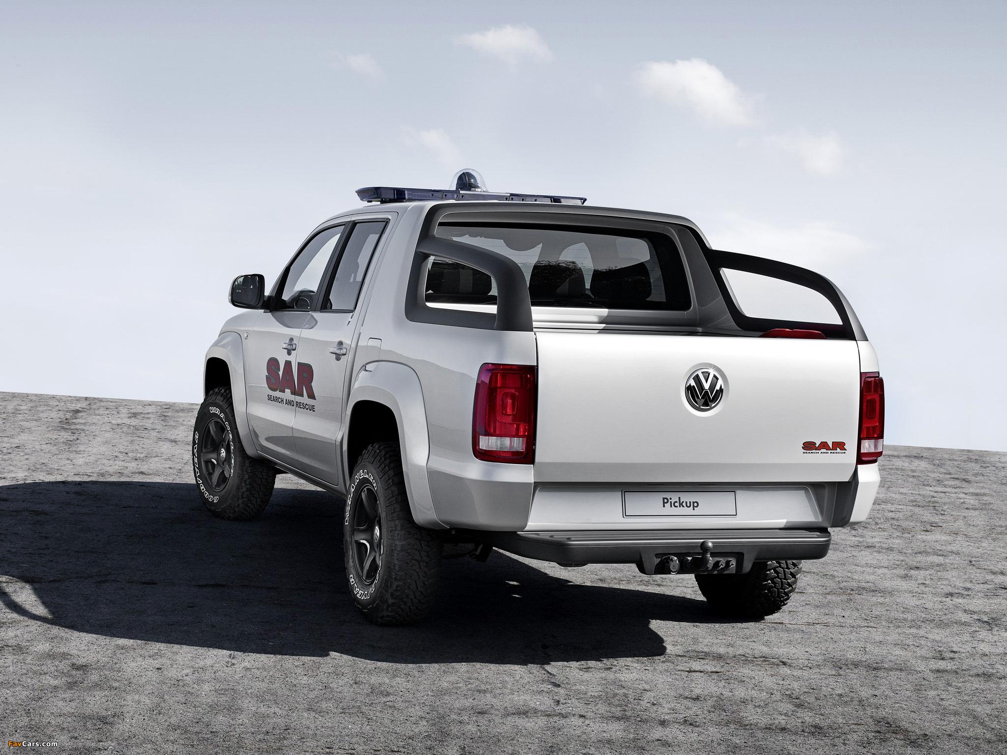Pictures of Volkswagen Pickup Concept 2008 (2048 x 1536)