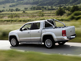 Pictures of Volkswagen Amarok Double Cab Highline 2010