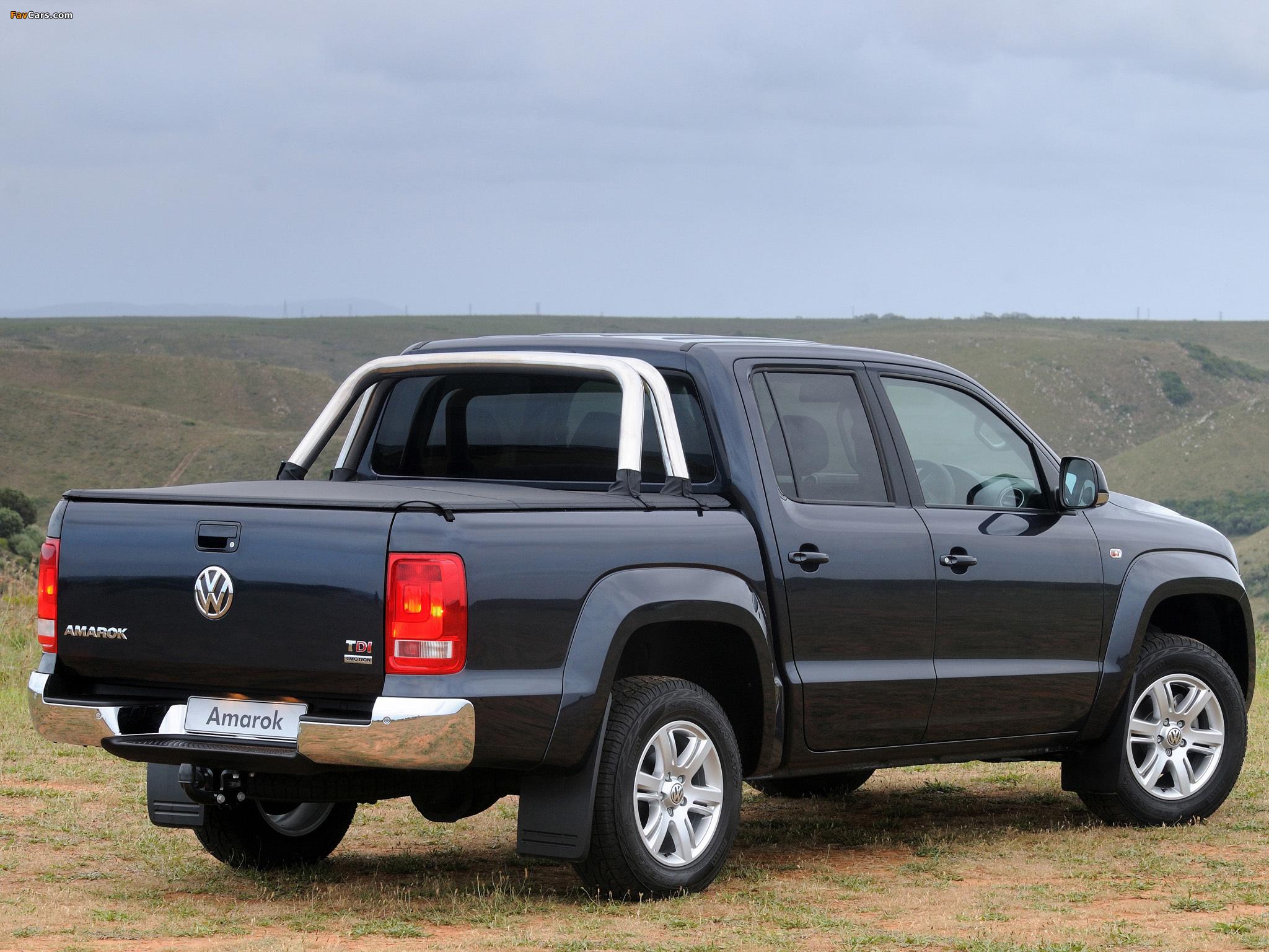 Pictures of Volkswagen Amarok Double Cab Highline ZA-spec 2010 (2048 x 1536)
