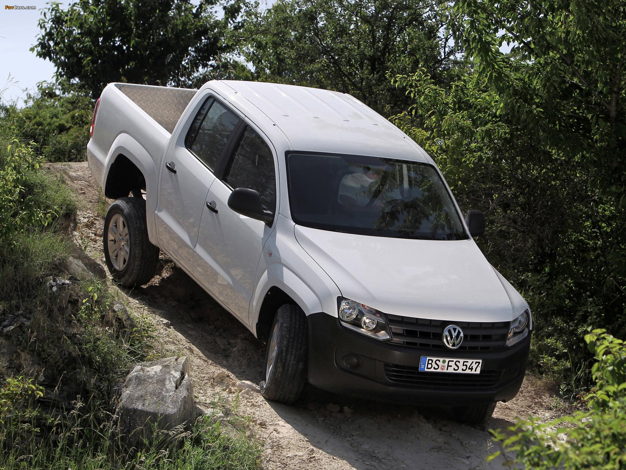 Pictures of Volkswagen Amarok Double Cab Trendline 2010 (2048 x 1536)