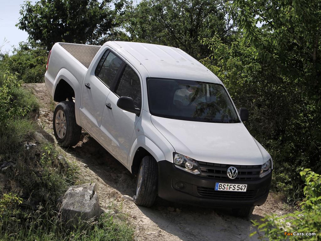 Pictures of Volkswagen Amarok Double Cab Trendline 2010 (1024 x 768)