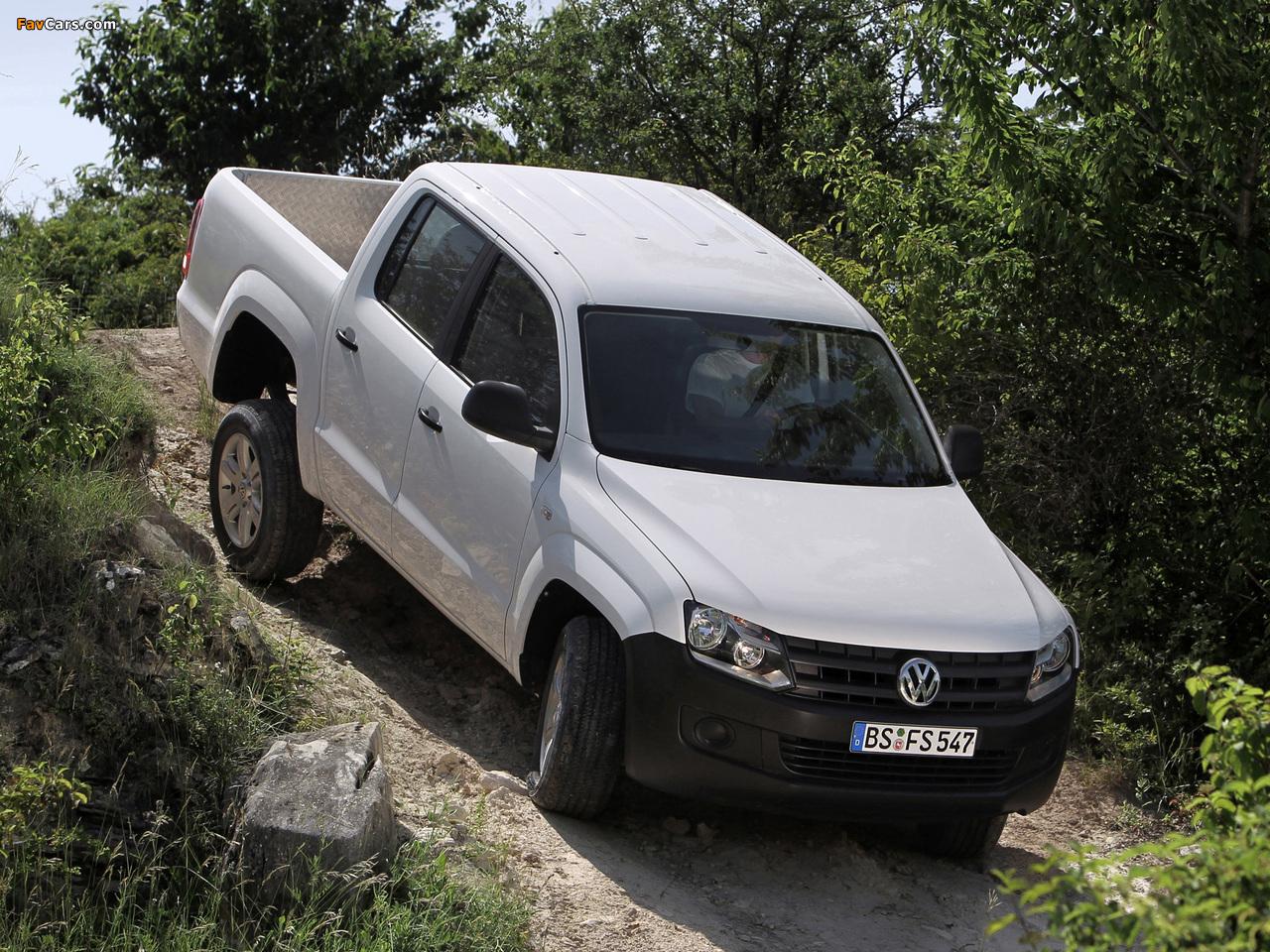 Pictures of Volkswagen Amarok Double Cab Trendline 2010 (1280 x 960)