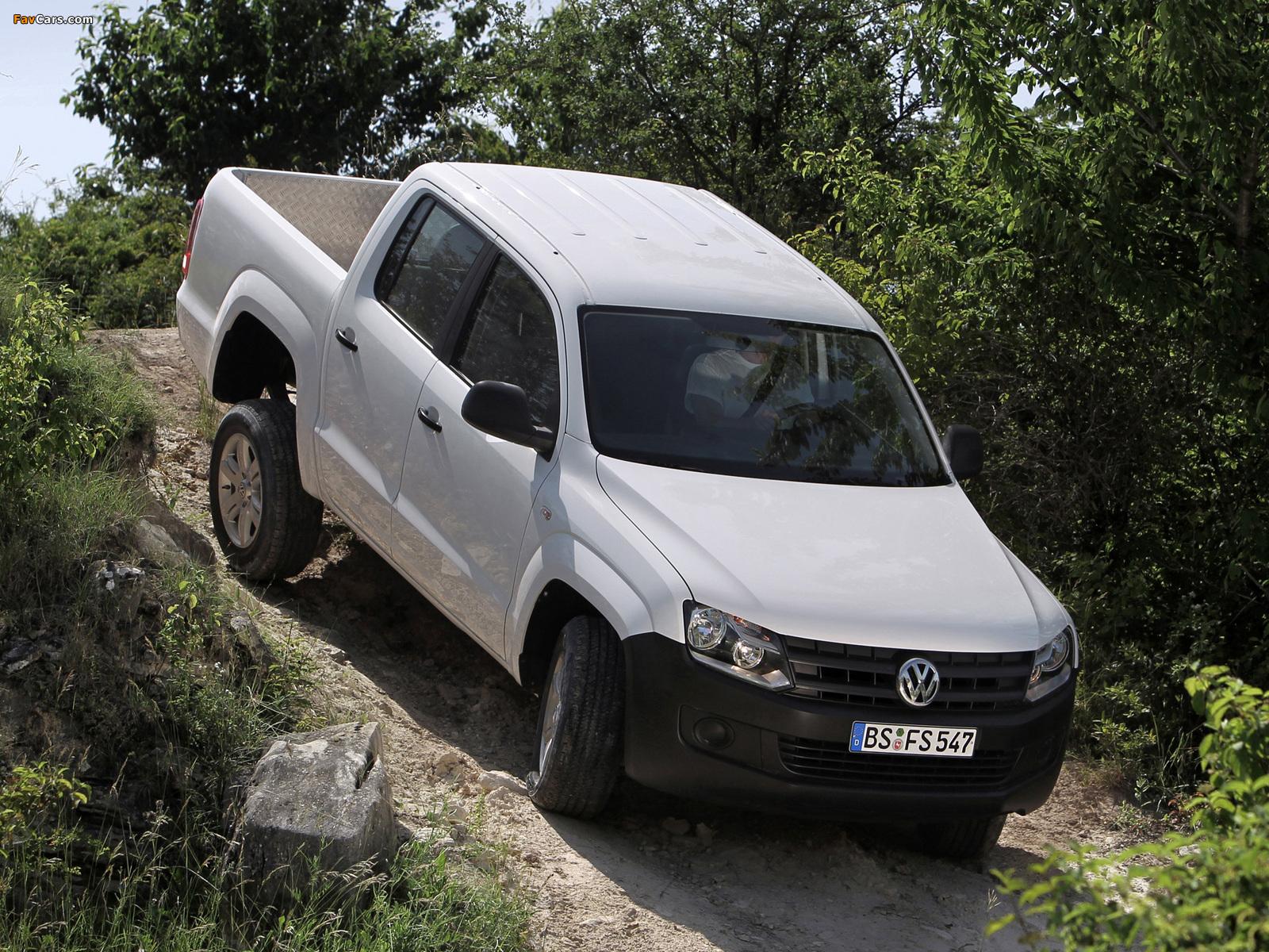 Pictures of Volkswagen Amarok Double Cab Trendline 2010 (1600 x 1200)