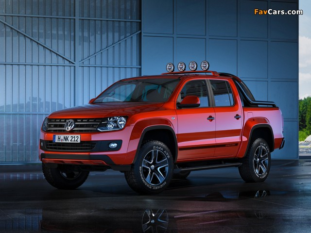 Pictures of Volkswagen Amarok Canyon Concept 2012 (640 x 480)