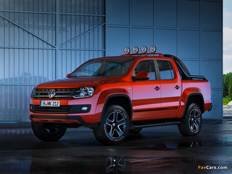 Pictures of Volkswagen Amarok Canyon Concept 2012 (800 x 600)