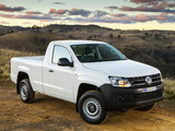 Pictures of Volkswagen Amarok Single Cab Trendline AU-spec 2012