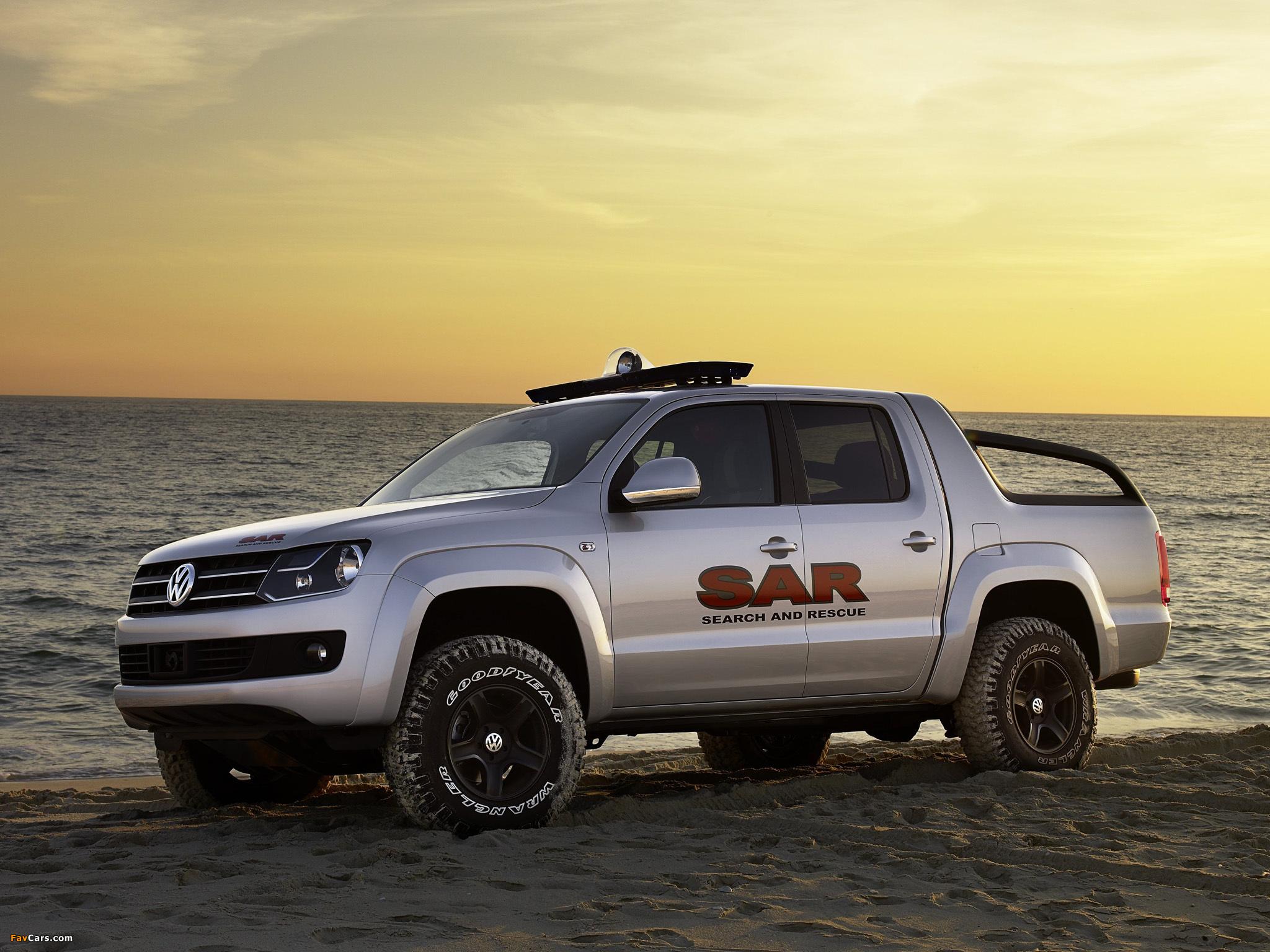 Volkswagen Pickup Concept 2008 pictures (2048 x 1536)
