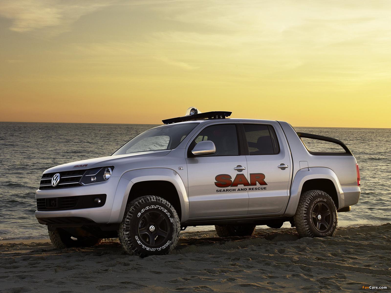 Volkswagen Pickup Concept 2008 pictures (1600 x 1200)