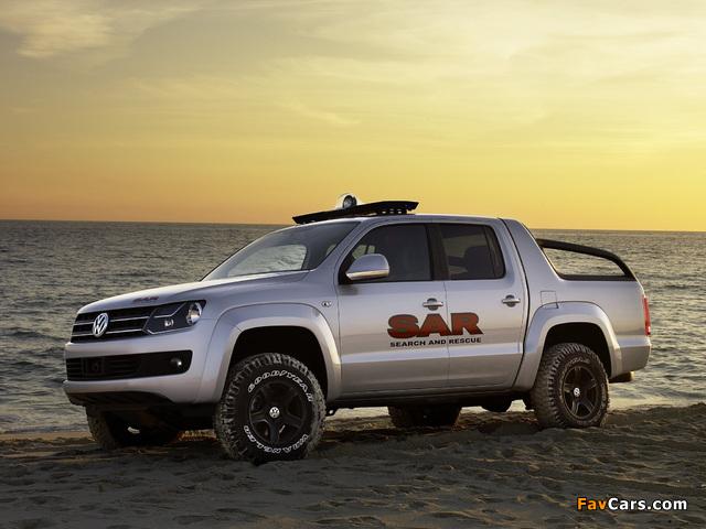 Volkswagen Pickup Concept 2008 pictures (640 x 480)