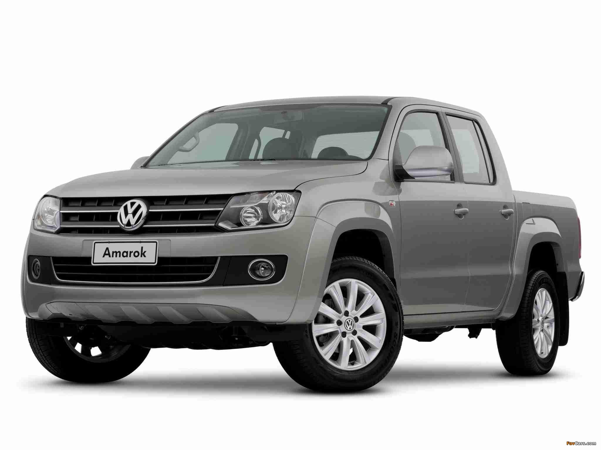 Volkswagen Amarok Double Cab Comfortline 2010 images (2048 x 1536)