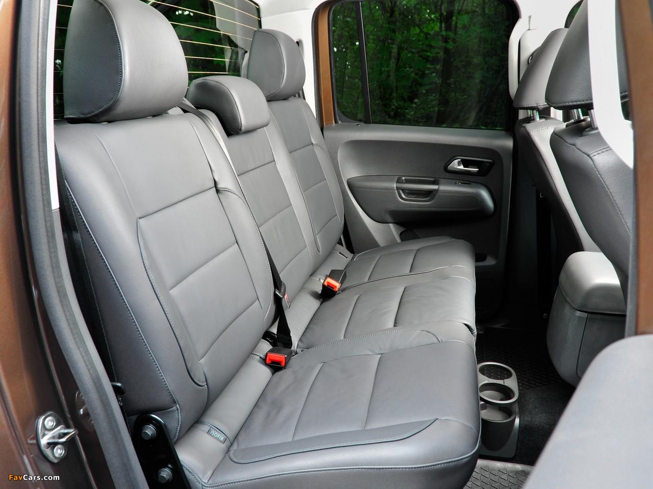 Volkswagen Amarok Double Cab Highline UK-spec 2010 images (1280 x 960)