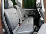 Volkswagen Amarok Double Cab Highline UK-spec 2010 images