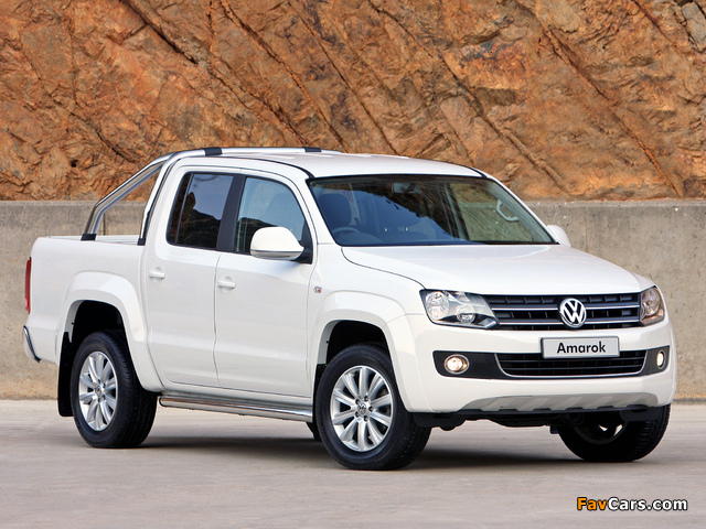 Volkswagen Amarok Double Cab Highline ZA-spec 2010 images (640 x 480)