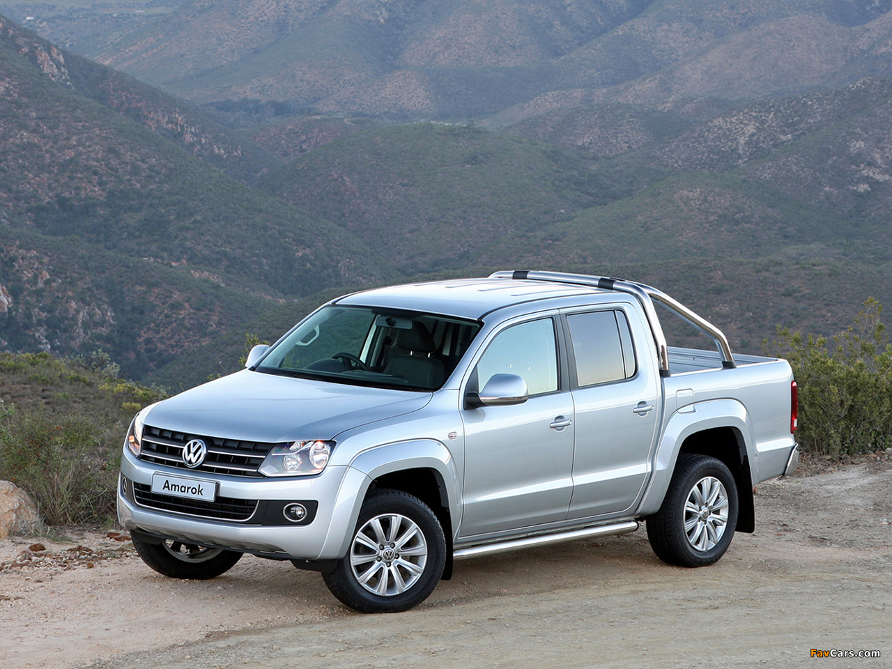Volkswagen Amarok Double Cab Highline Za Spec 2010 Images