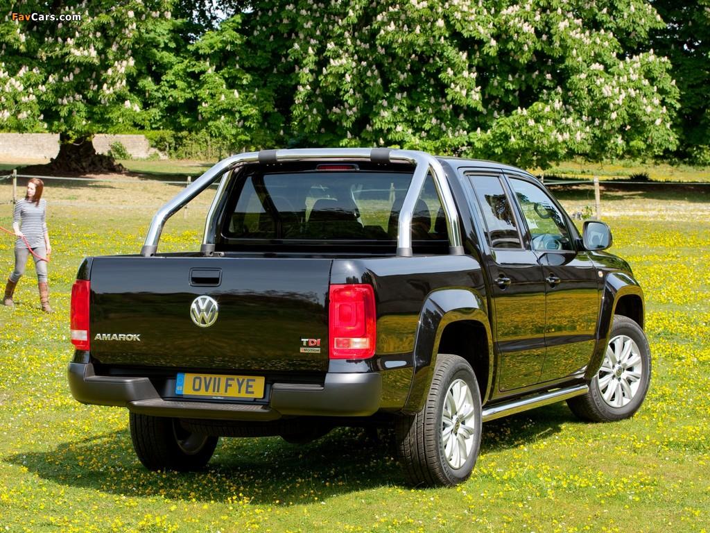 Volkswagen Amarok Double Cab Trendline UK-spec 2010 images (1024 x 768)