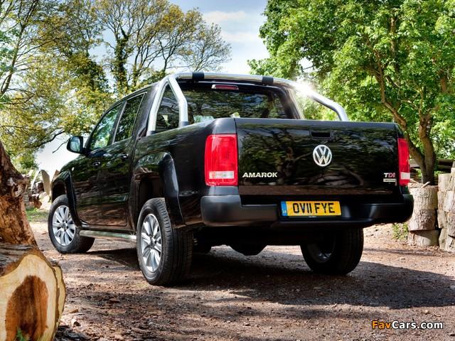 Volkswagen Amarok Double Cab Trendline UK-spec 2010 images (640 x 480)